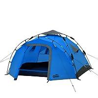 Sekundenzelt Qeedo Quick Pine 3, Campingzelt , Quick Up System, Verschiedene Farben