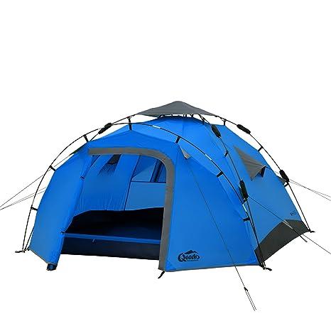 Qeedo Sekundenzelt Quick Pine 3, Campingzelt, Quick Up System