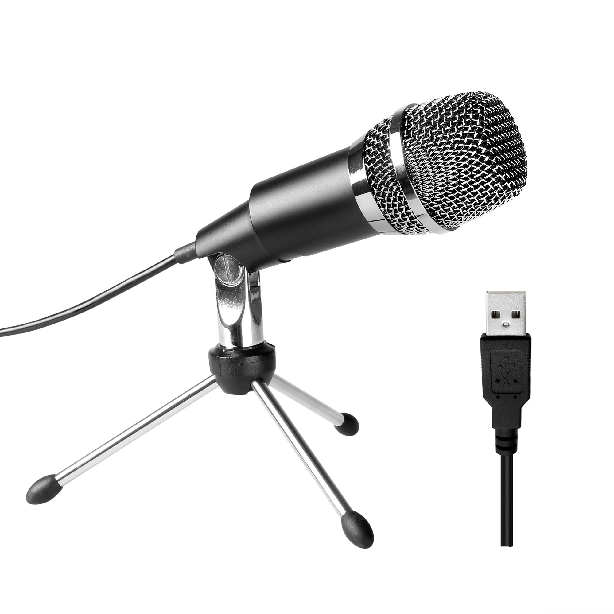 FIFINE TECHNOLOGY USB Microphone,Fifine Plug &Play Home Studio USB Condenser Microphone for Skype, Recordings for YouTube, Google Voice Search, Games(Windows/Mac)-K668 by FIFINE TECHNOLOGY (Image #9)