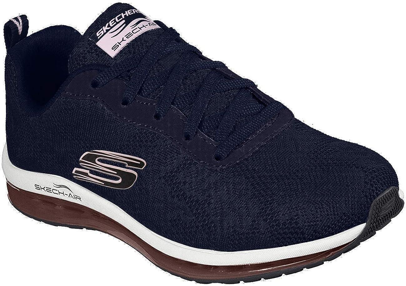Skechers zapatos negro Mesh air cooled memory foam
