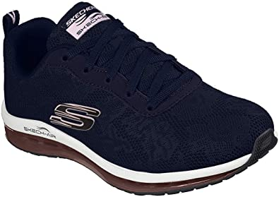Blue Sports Running Breathable Skechers Womens Sketch-Air Element Shoes