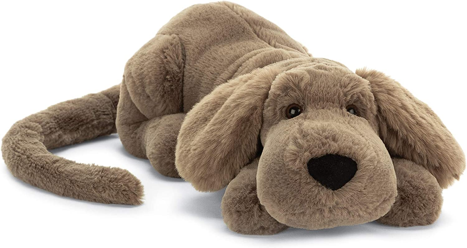 Jellycat Henry Hound Dog Stuffed Animal Little 12 inches