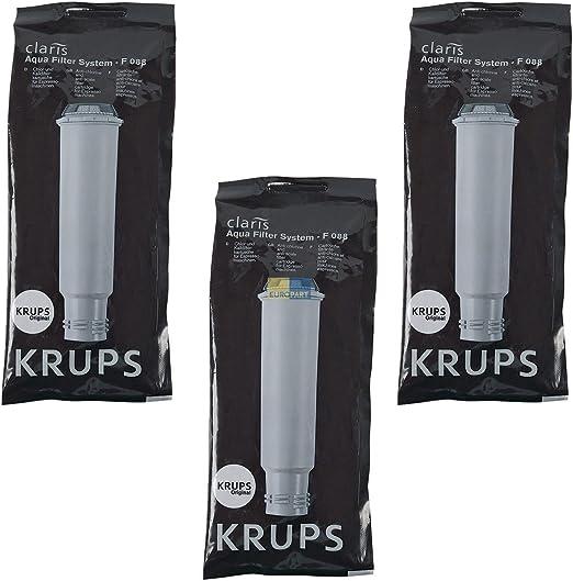 Amazon.com: Krups F088 Aqua sistema de filtro Cartucho de ...