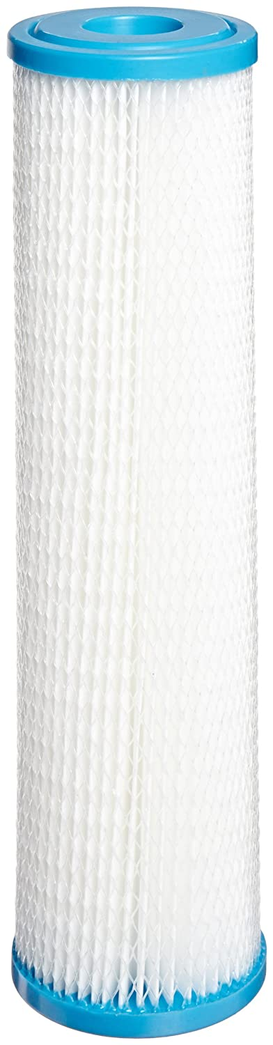 Hydronix SPC-25-1030 Polyester Pleated Filter 2.5 OD X 9 3//4 Length 30 Micron