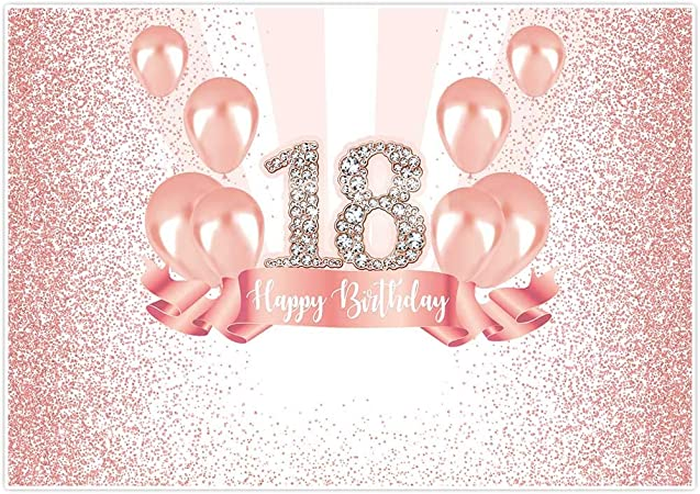 Allenjoy Foto Hintergrund Für 18 Geburtstag Mit Kamera