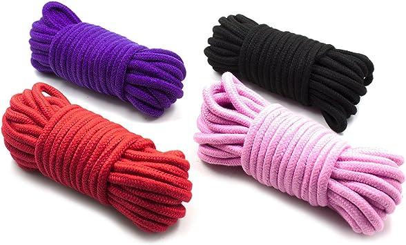 Cuerda de algodón suave de 10 m, 8 mm, cuerda de algodón grueso ...
