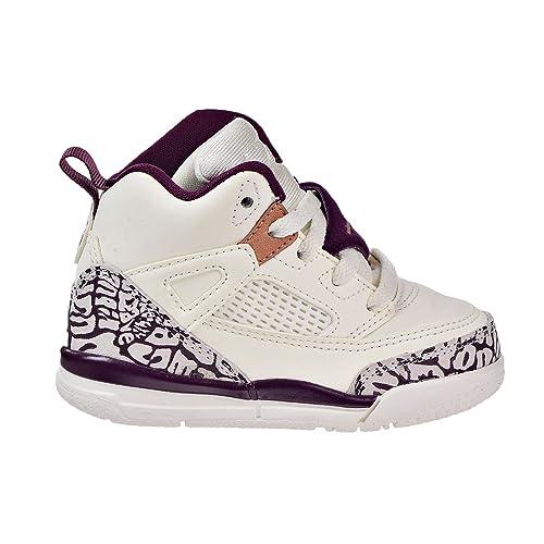 973d5433bac3 Jordan Spizike GT Toddlers Basketball Shoes Sail Bordeaux-Metallic Red  Bronze 684932-132