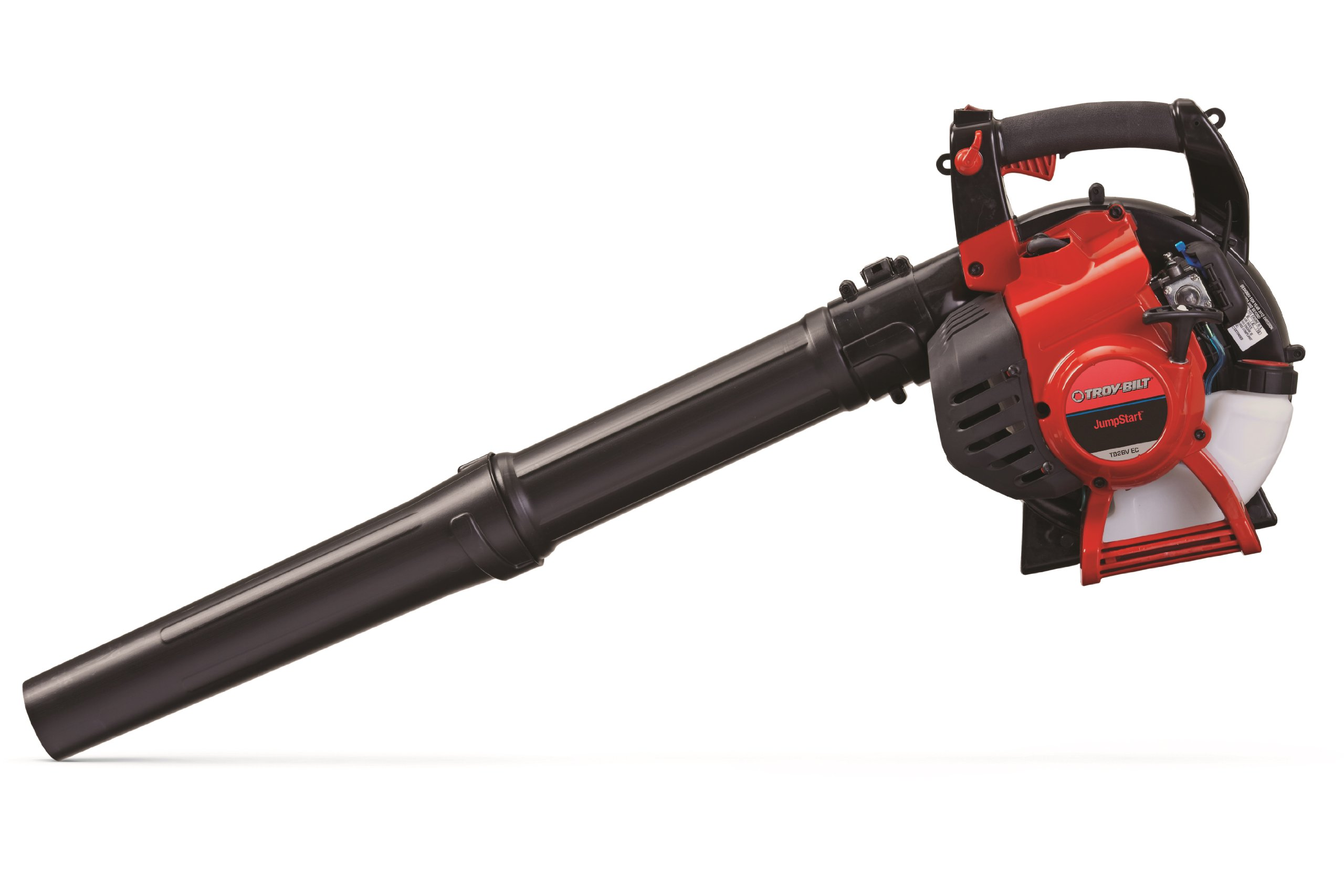 Troy-Bilt TB2BV EC 27cc 2-Cycle Gas Leaf Blower/Vac with JumpStart Technology and Vacuum Accessory