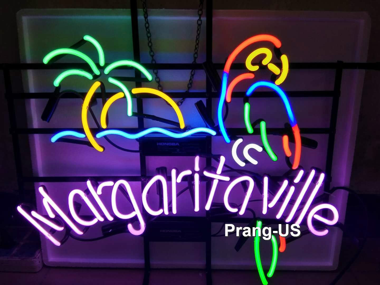 Amazon.com: Prang-US Margaritaville Parrot Neon Signs 17×14 ...