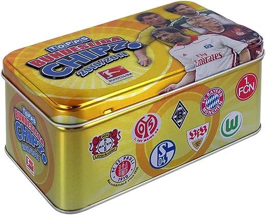 Topps TO90257 - Caja para Guardar fichas de la Bundesliga ...