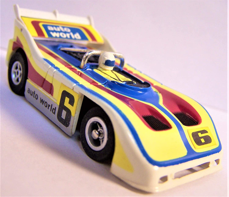 Auto World Aurora AFX Porsche 510k Can Am Racer ho Scale Slot car Xtraction Chassis