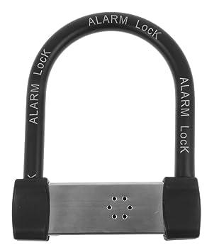 Ecolle Alarma Antirrobo Candado 225 mm x 180 mm – Alarma, grosor: 105 – 110 dB – Incluye pilas
