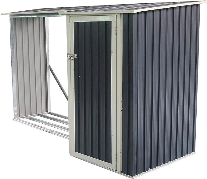 Gardiun KIS12972 - Caseta Metálica Ontario - 5,31 m² Ext.: Amazon.es: Jardín