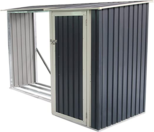 GARDIUN KIS12973 - Armario Combi Montreal - 3,07 m² Exterior 109x282x168 cm: Amazon.es: Jardín