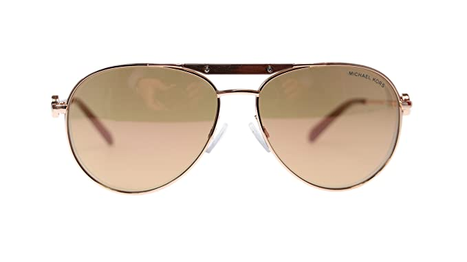befb353632f17 Image Unavailable. Image not available for. Colour  Michael Kors Zanzibar  Womens Aviator Sunglasses ...
