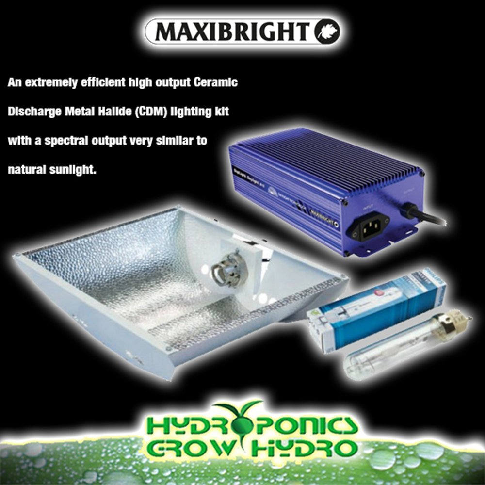 Maxibright Digilight Daylight 315 W Lighting Kit WITH REFLECTOR