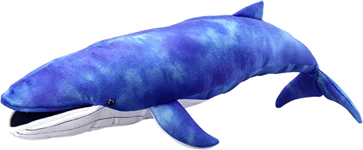 The Puppet Company Creatures Blue Whale Hand Puppet, Large, Blue