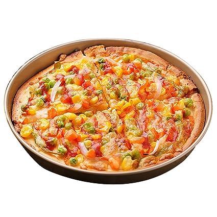 Bandeja de pizza Bandejas para Horno Bandeja Redonda para Hornear Molde para Hornear Herramienta para Horno