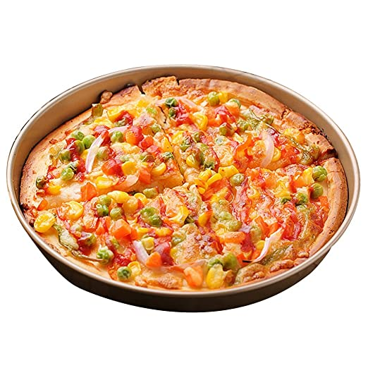 Bandeja de pizza Bandejas para Horno Bandeja Redonda para Hornear ...