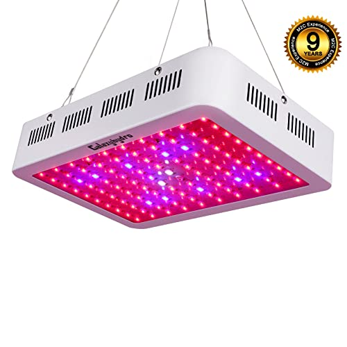 Roleadro LED Grow Light, Galaxyhydro Series 300W Indoor Plant Grow Lights Full Spectrum
