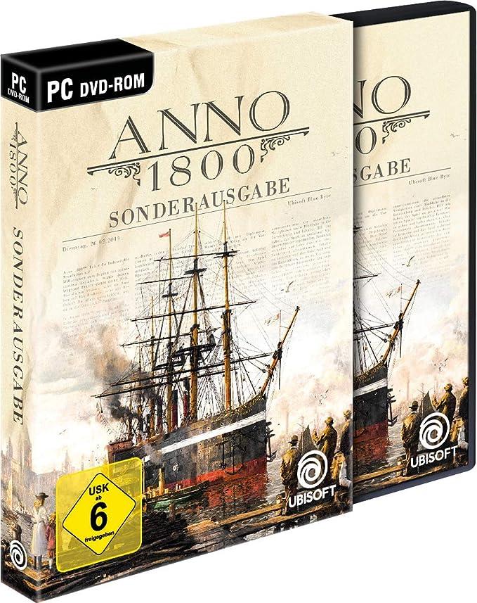 Anno 1800 Sonderausgabe (inkl. Soundtrack und Lithographien) - PC [Importación alemana]