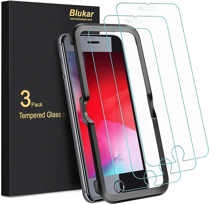 Blukar Panzerglas Für Iphone Se 2020 Iphone 8 Iphone Elektronik