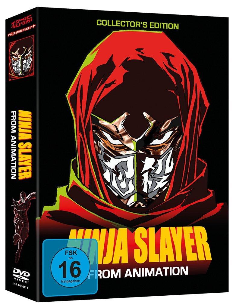 Ninja Slayer From Animation OmU - Gesamtausgabe 3 DVDs ...