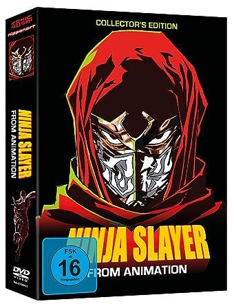 Amazon.com: Ninja Slayer (OmU) - Gesamtausgabe - DVD-Box (6 ...