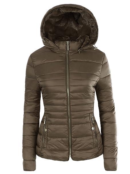 Lee Andrea Look Damen Mantel Steppjacke Winter Winterjacke N557 Jacke Jacket Parka Daunen DH2IWE9Y
