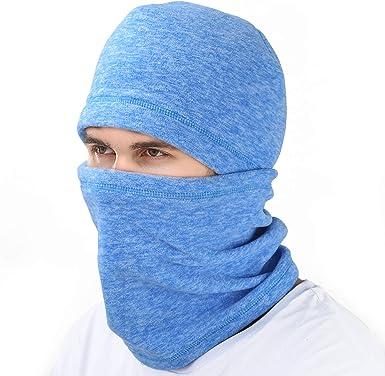 mysuntown Ski Face Mask Balaclava Fleece Hood for Men Women,Winter Neck Warmer Windproof Cap for Snowboarding Running Cycling