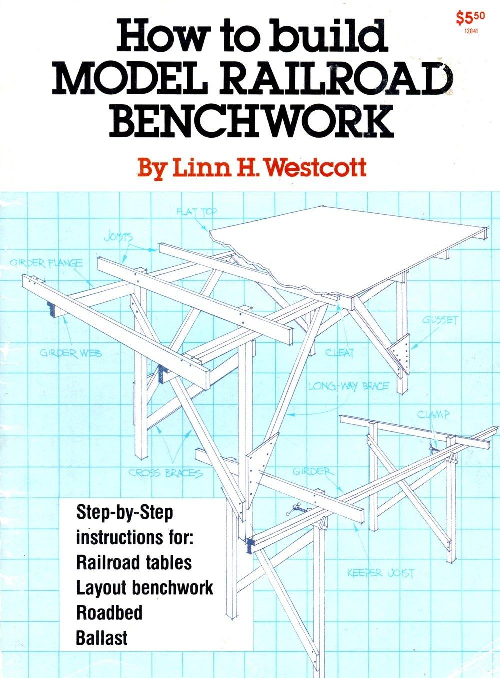 How to Build Model Railroad Benchwork, Linn Hanson Westcott