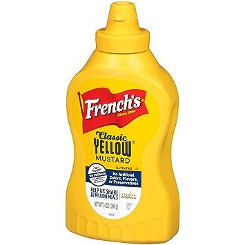 8986c8866968 Amazon.com   French s Classic Yellow Mustard Sauce