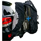 Formosa Covers Bike Cover for Transport on Car, Truck, Suv, RV Rack or Home Storage, Reflectors, fits 1-3 Bikes