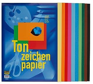 50(5X 10) fogli di Carta da disegno/DIN A3/10colori assortiti