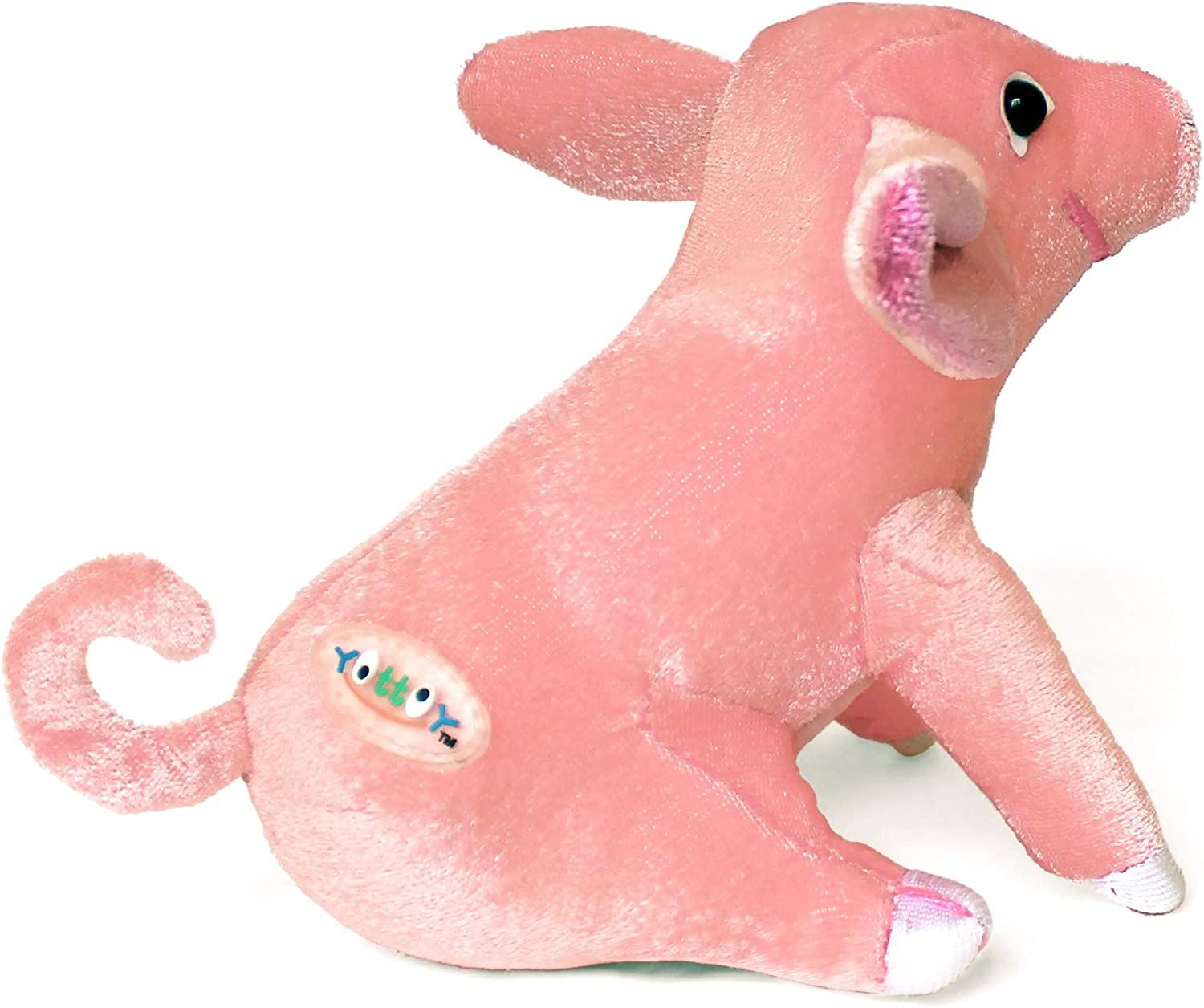 """Details about  /YOTTOY Biddle Collection Little Biddle Pig Stuffed Plush Toy 4"""" Item #362"""