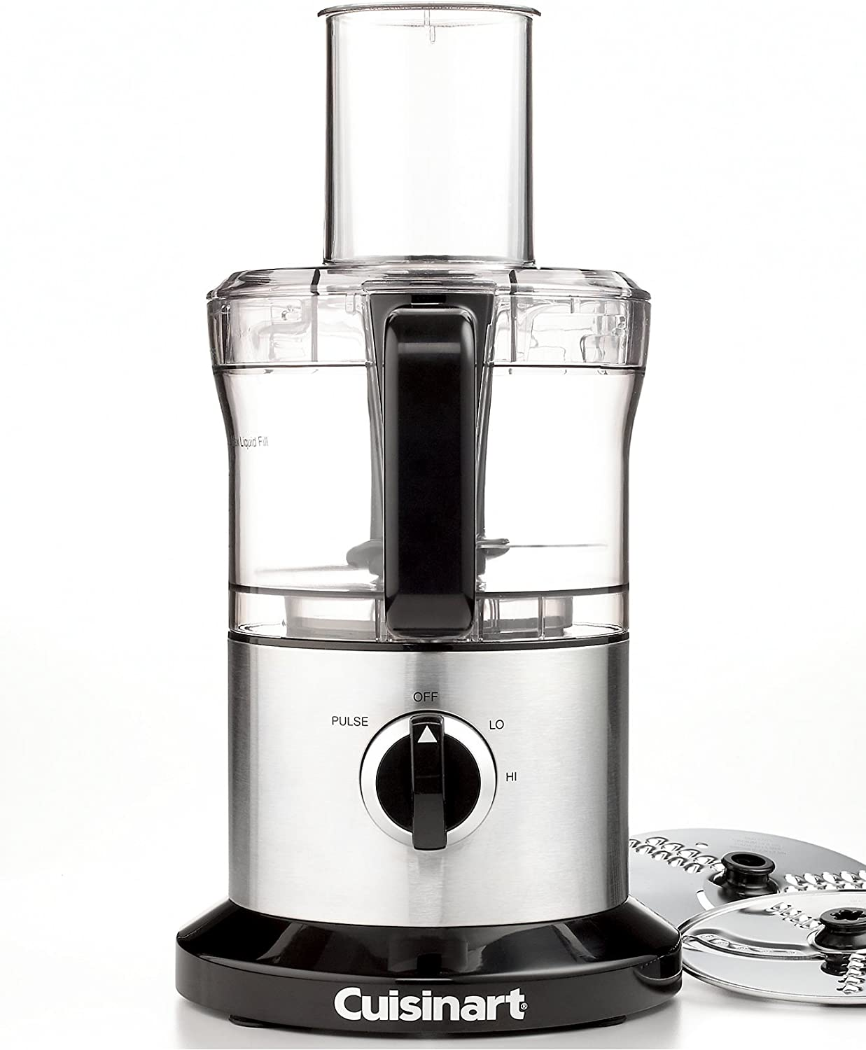 Cuisinart DLC-6FR 8 Cup Food Processor, Stainless Steel (Renewed)