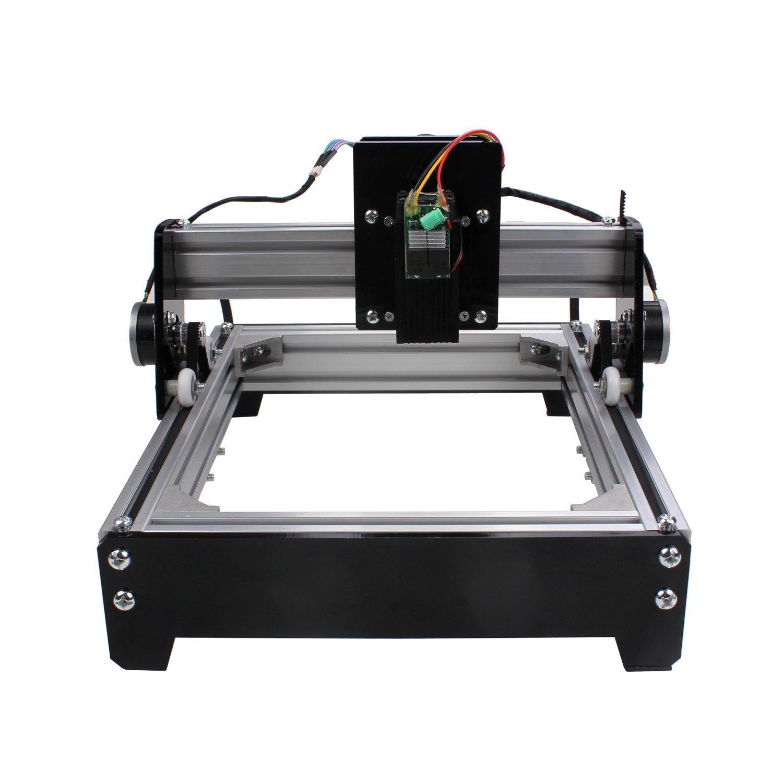 SUNWIN 15W Mini DIY Laser Engraver Metal Steel Iron Stone Wood Image Logo  Print Marking