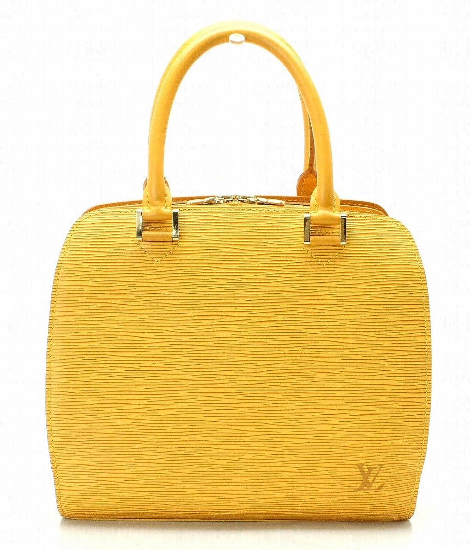 [ルイ ヴィトン] LOUIS VUITTON エピ ポンヌフ ハンドバッグ レザー タッシリイエロー 黄色 イエロー M52059 B07D5WMQBS