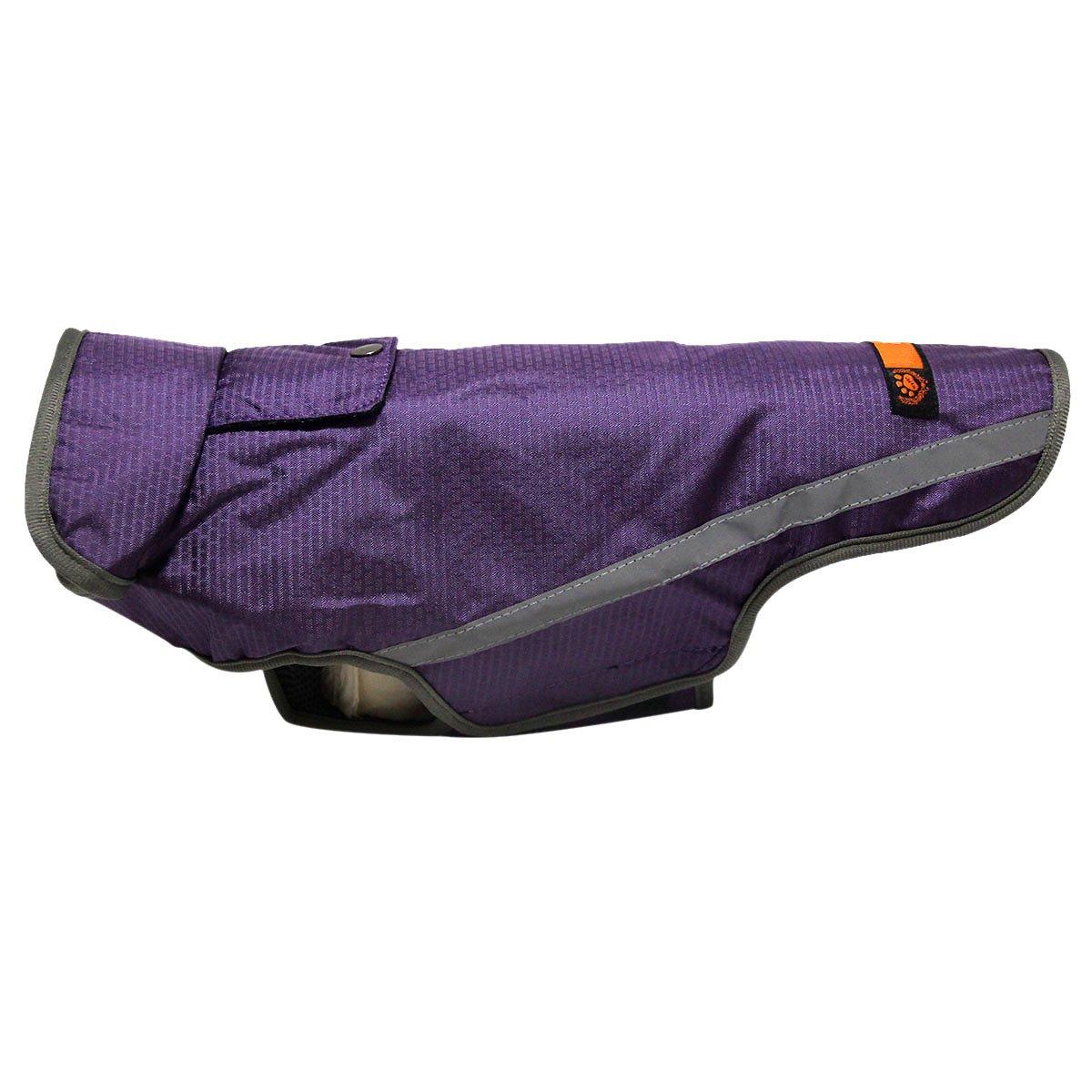 JoyDaog Premium Outdoor Sport Waterproof Raincoat Dog Jacket,Super Breathable Mesh Lined Dog Coats for Large Dogs,Black XXXL