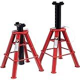 Sunex 1310 10-Ton Medium Height Pin Type Jack Stands, Pair
