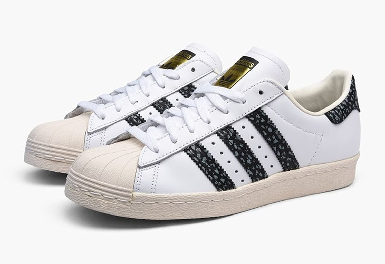 adidas Originals Mens  Superstar 80S Trainers US10.5 White