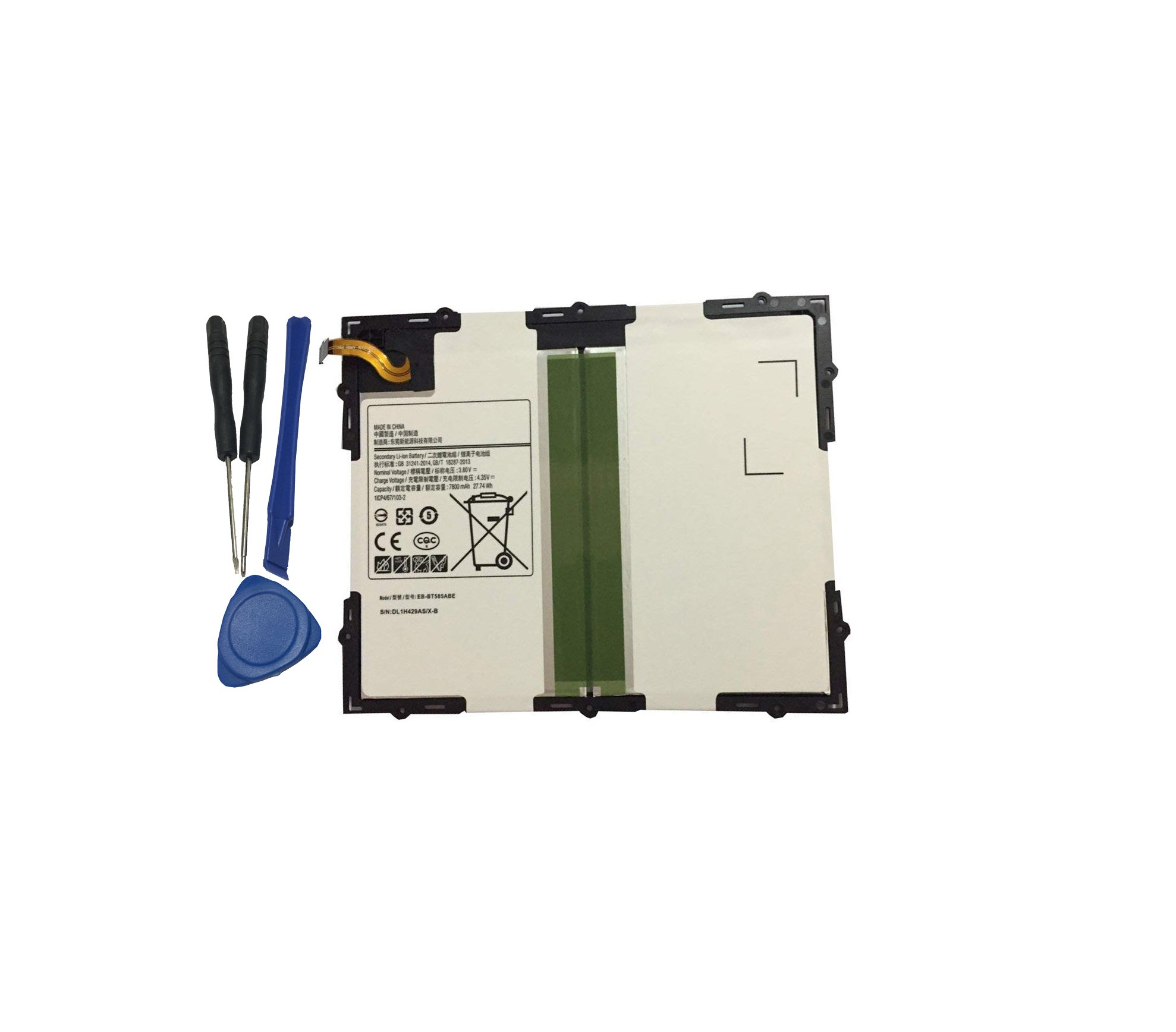 Bateria Tablet EB-BT585ABE para Samsung Tab A 10.1 SM-T580 T