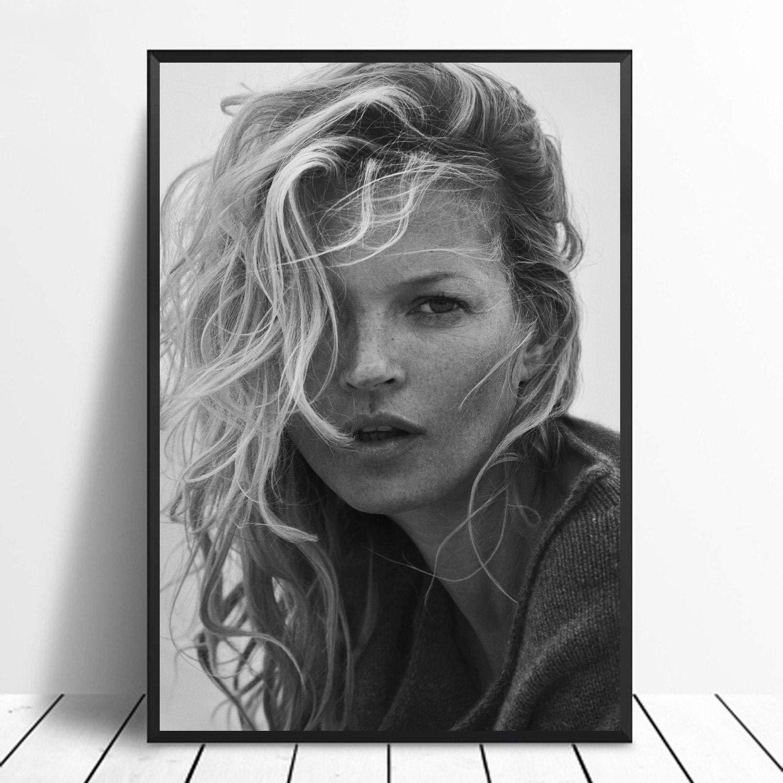 Art Print Poster Canvas Kate Moss