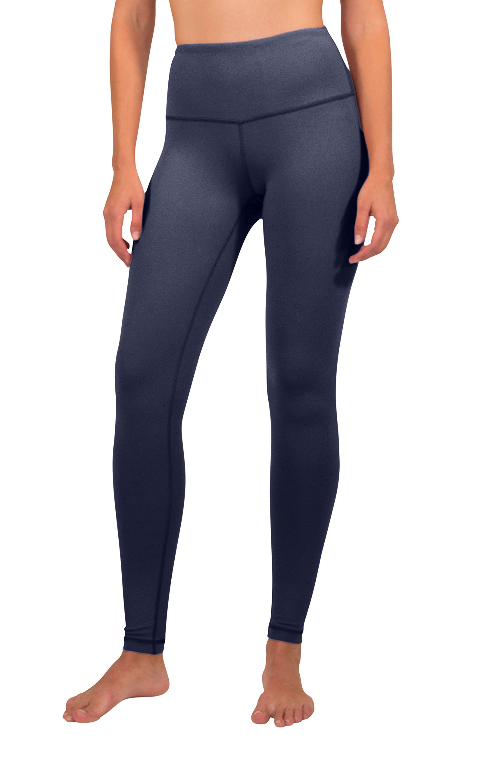 90 Degree By Reflex - High Waist Power Flex Legging - Tummy Control - Moonlit Ocean - XS by 90 Degree By Reflex