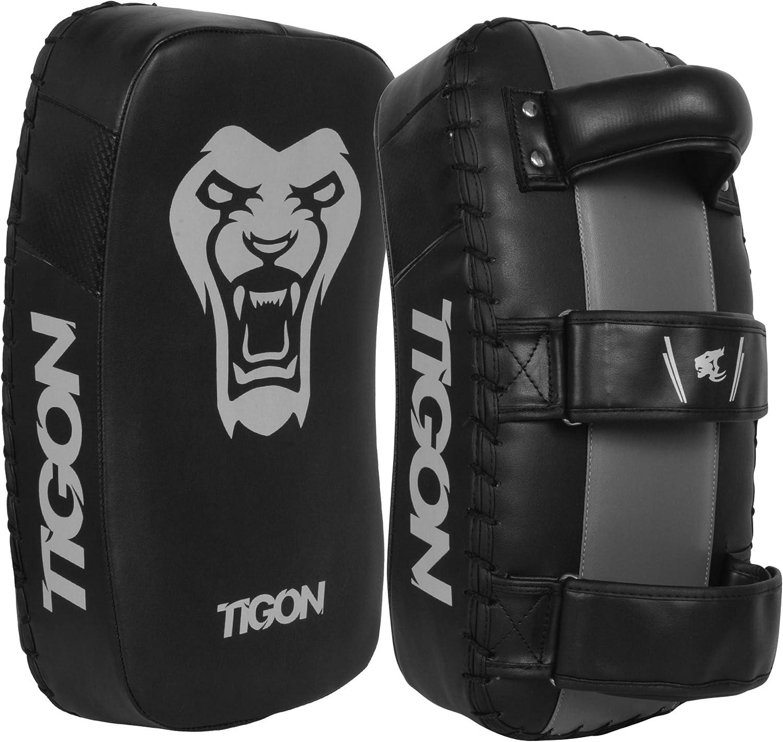 Thai Kick Boxing Curved Arm Pad Punching Bag MMA Focus Muay Punch Shield Mitt