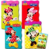 "Disney Minnie Mouse ""My First Books"" (Set of 4 Shaped Board Books)"