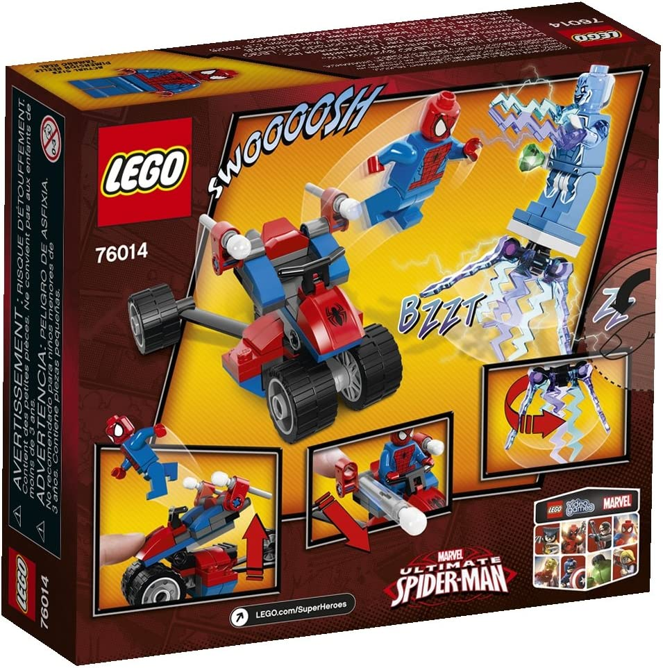 LEGO Superheroes 76014 Spider-Trike vs. Electro