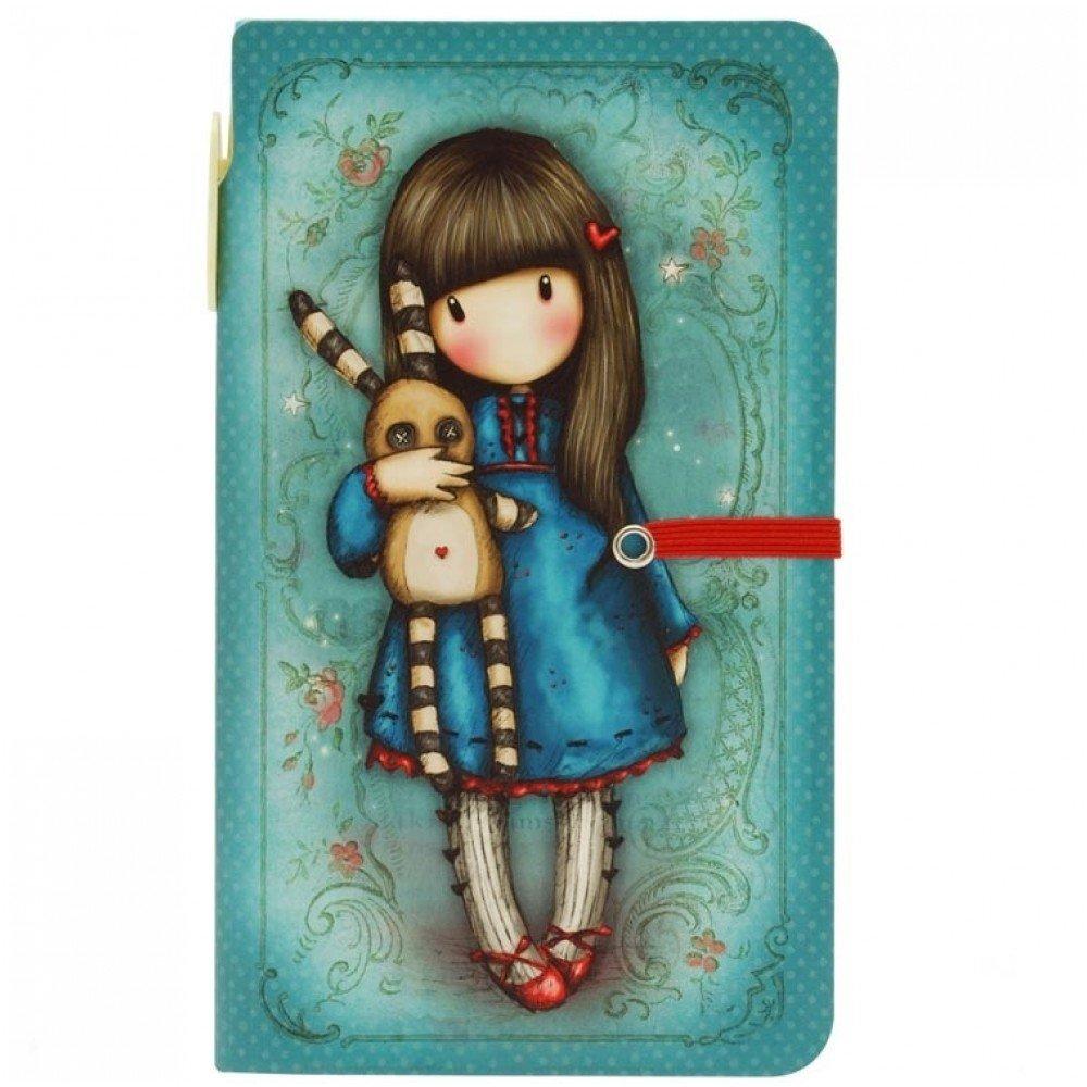 Gorjuss Hush Little Bunny Jotter with Pen Santoro-London 56588