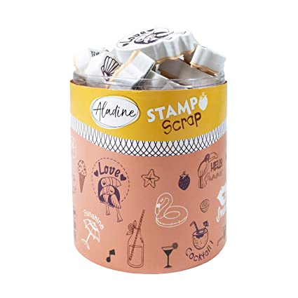 Aladine 03743 Stampo Scrap Love Summer: Amazon.es: Oficina y ...
