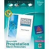 Avery Diamond Clear Heavyweight Sheet Protectors, Acid Free, Box of 200 (74400)